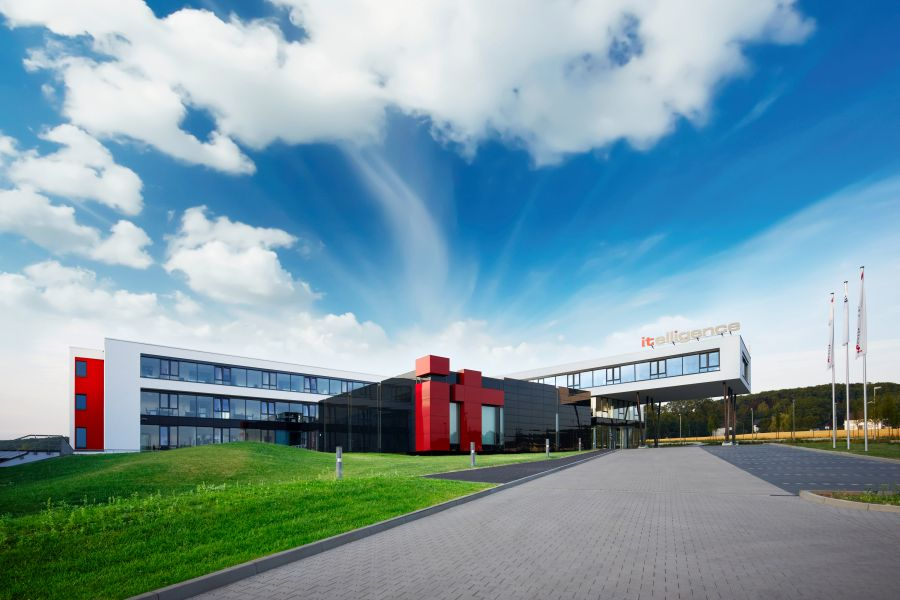 Siedziba itelligence w niemieckim Bielefeld