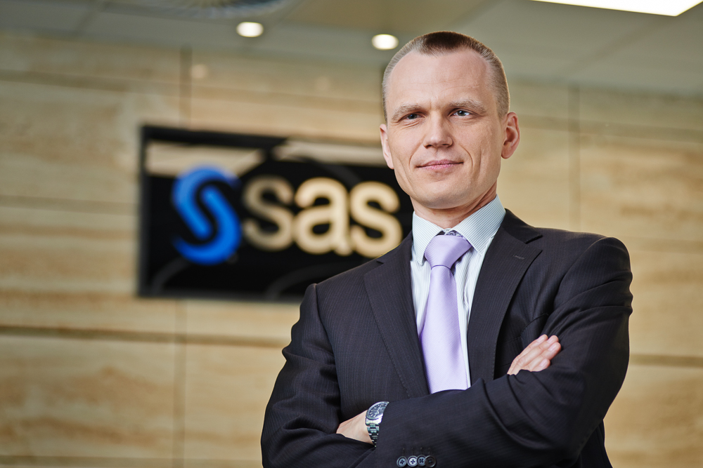 Adam Bartos, dyrektor ds. technologii SAS Institute Polska