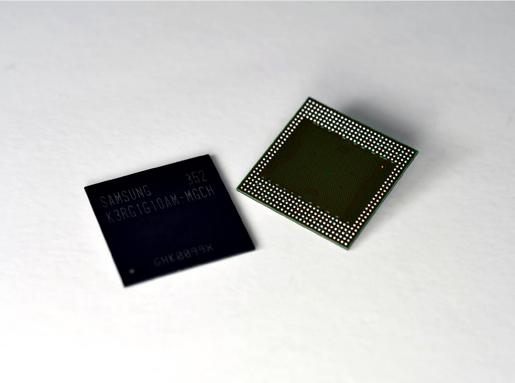 Układy pamięci LPDDR4 Źrodło: Samsung