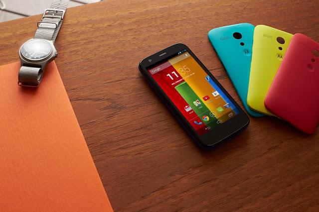 Motorola Moto G - najnowszy telefon marki Motorola, być może jeden z ostatnich wprowadzonych na rynek pod kierownictwem Google. Źródło: Motorola