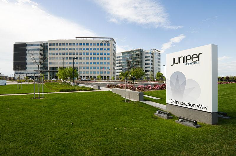 Siedziba Juniper Networks w amerykańskim Sunnyvale Źródło: Wikipedia