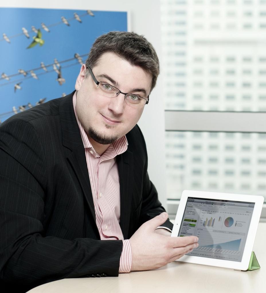 Piotr Kowal, Solution Architect w polskim oddziale firmy Qlik.