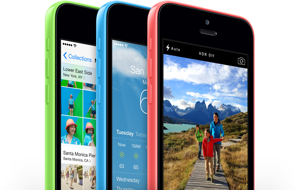 iPhone 5C Źródło: Apple
