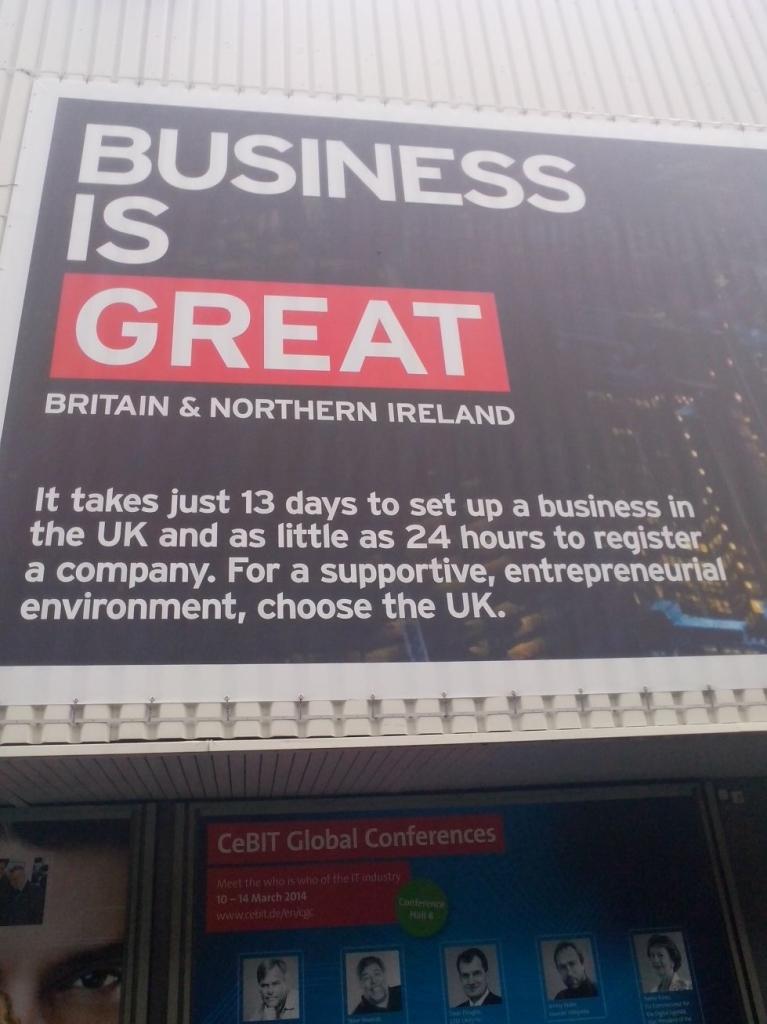 CeBIT 2014: Wielka Brytania i Niemcy wesprą rozwój europejskiej infrastruktury