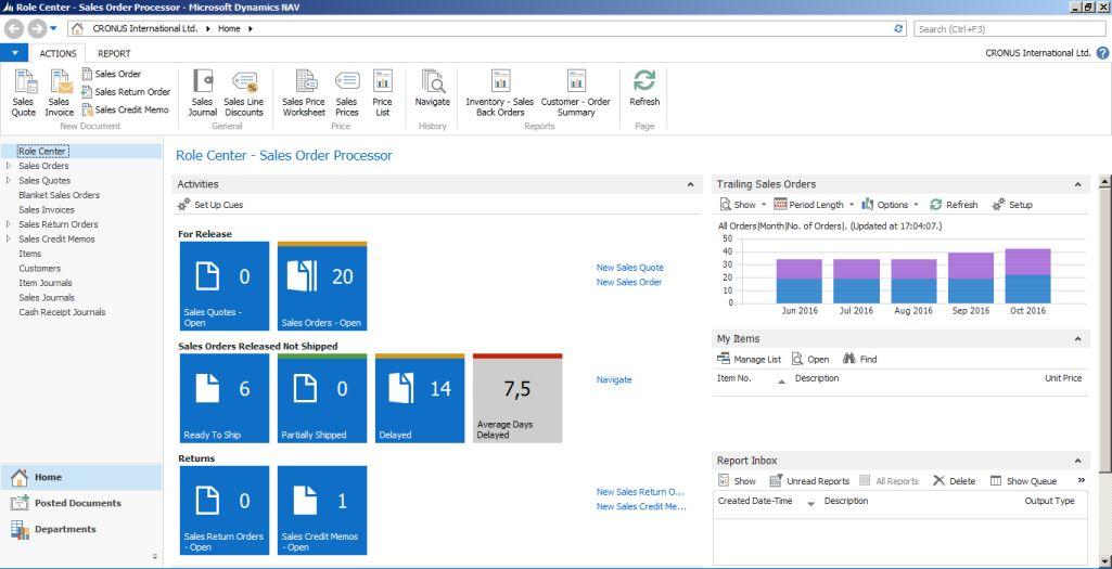 Microsoft Dynamics NAV 2015 lepiej dostosowany do potrzeb średnich firm