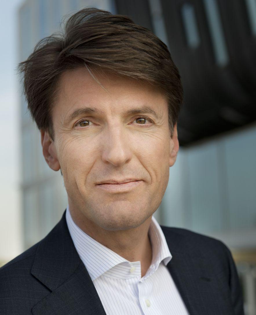 Erik van der Meijden, dyrektor generalny firmy Exact.