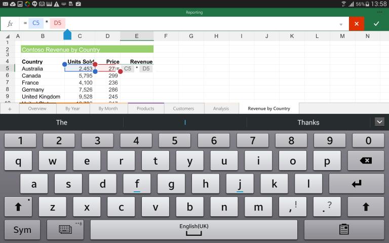 Ruszyły publiczne testy pakietu Office dla tabletów opartych na Androidzie