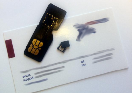 Embedded_SIM_from_M2M_supplier_Eseye_with_an_adapter_board_for_evaluation_in_a_Mini-SIM_socket_blurred