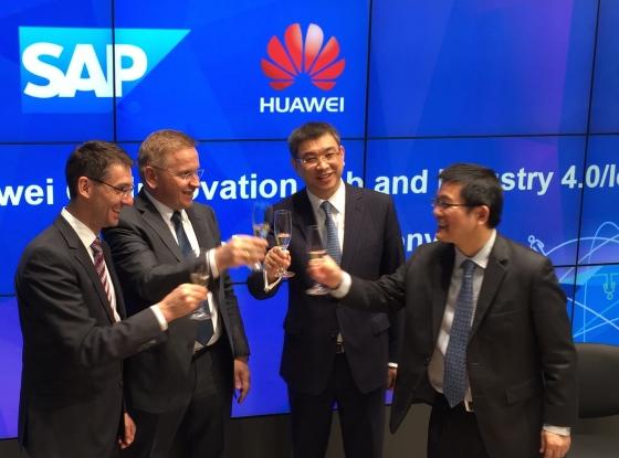 CeBIT 2015: Huawei i SAP podpisały umowę o współpracy w zakresie rozwiązań Industry 4.0 i IoT