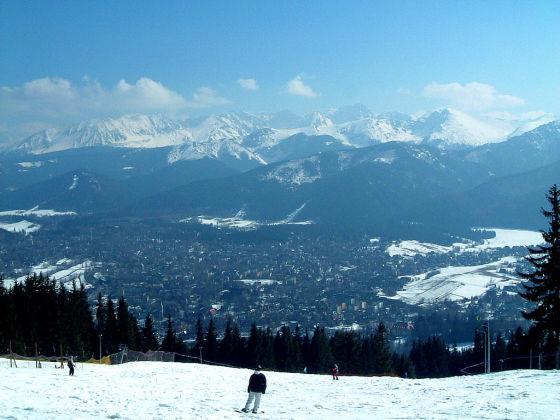 Zakopane - skiing (28) autorstwa Jonathanawhite