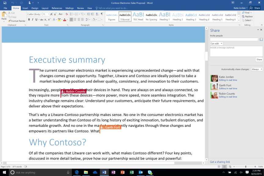 Office 2016 – więcej chmury, bezpieczeństwa i współpracy