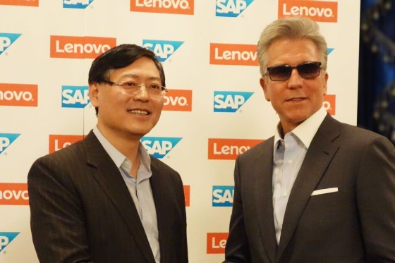 SAP iLenovo wprowadzają wspólne rozwiązania dla gospodarki cyfrowej
