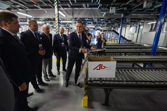 Grupa AB otworzyła nowoczesne Centrum Dystrybucyjne w Magnicach pod Wrocławiem
