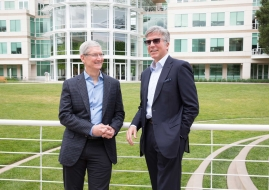Tim Cook, CEO Apple i Bill McDermott, CEO SAP