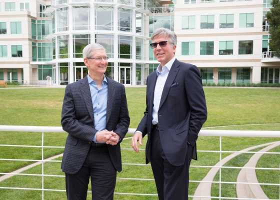 Tim Cook, CEO Apple i Bill McDermott, CEO SAP