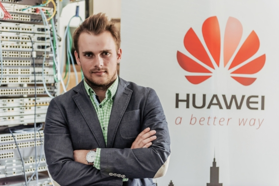 Pierwszy w Polsce certyfikat Huawei Certified Internet Expert Routing & Switching
