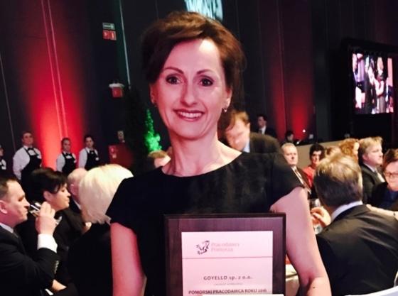 Goyello Laureatem Konkursu Pomorski Pracodawca Roku 2016