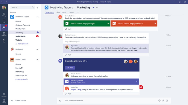Nowe funkcje pracy zespołowej Microsoft Teams dostępne w Office 365
