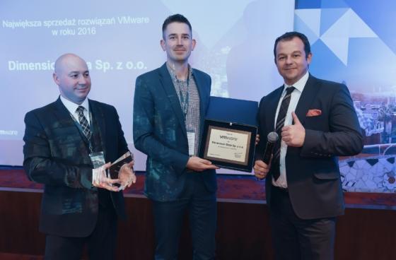 Dimension Data nagrodzona przezVMware