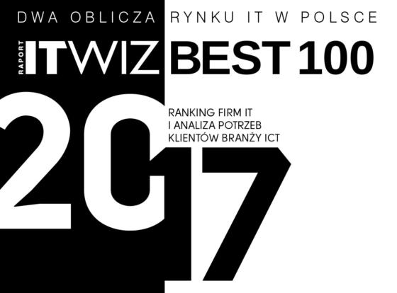 Największe polskie firmy IT w roku 2016 – wyniki raportu ITwiz Best 100