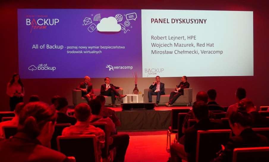 Backup Forum 2017: Ochrona maszyn wirtualnych będzie coraz istotniejsza
