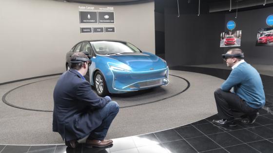 Ford Design Center wykorzystuje rozwiązania z zakresu wirtualnej rzeczywistości VR