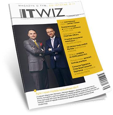Czerwcowy numer ITwiz: O roli CDO, automatyzacji IT i sprawnym zarządzaniu danymi
