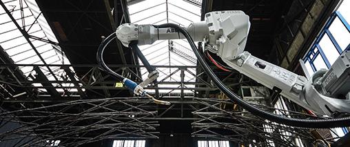 Roboty ABB wydrukują w 3D most w centrum Amsterdamu