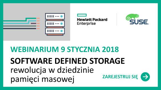 Software Defined Storage, czyli jak kształtować działanie pamięci masowych z poziomu aplikacji