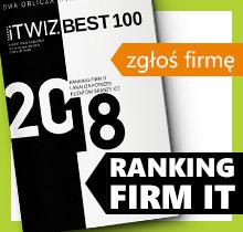 Zgłoś firmę ITwiz BEST100