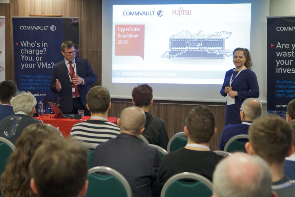 Fujitsu i Commvault: dane mogą być bezpieczne, transparentne i dostępne jednocześnie