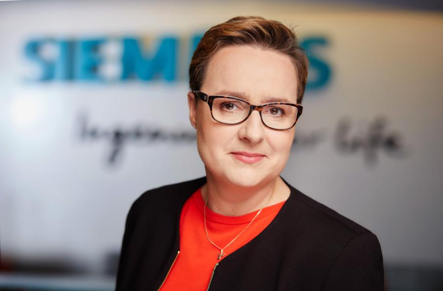 Dominika Bettman szefową polskiego oddziału firmy Siemens