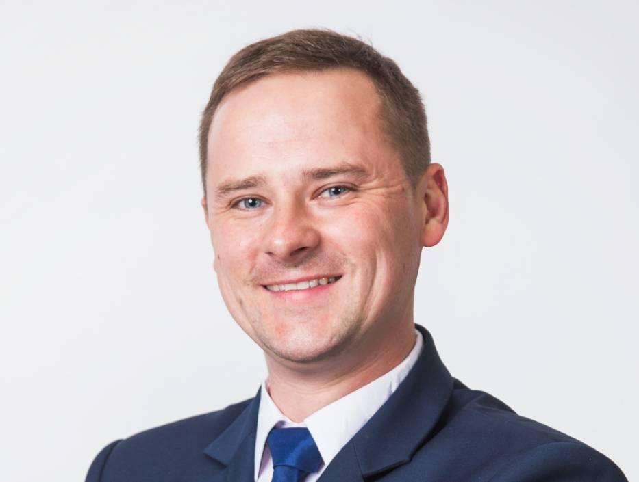 Grzegorz Maczuga odpowiedzialny za sieć partnerów Sharp w Polsce