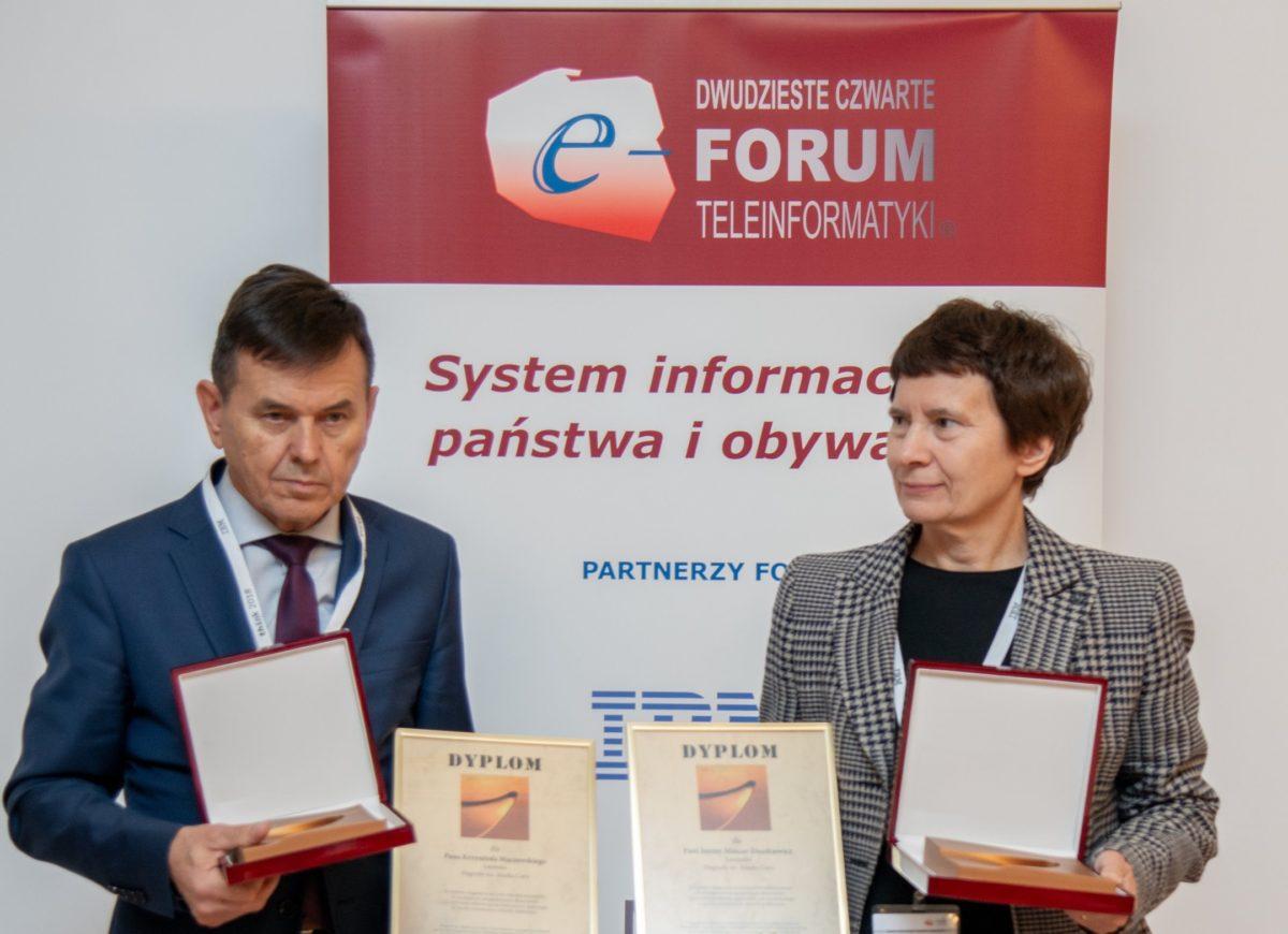 Krzysztof Mączewski i dr Janina Mincer-Daszkiewicz laureatami 17. edycji Nagrody im. Marka Cara