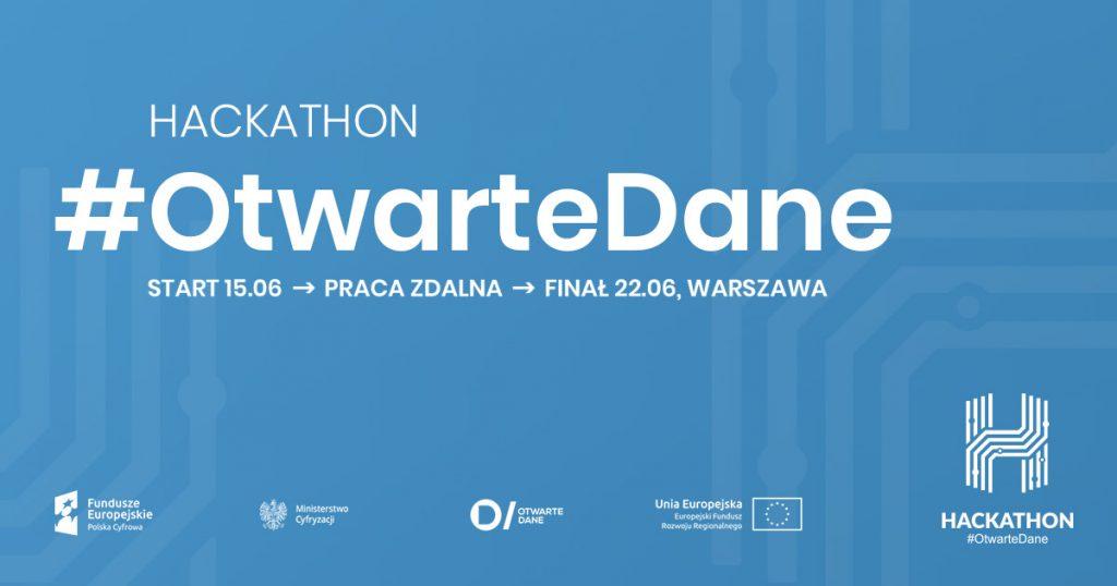 Ministerstwo Cyfryzacji po raz 3. zaprasza na Hackathon #OtwarteDane