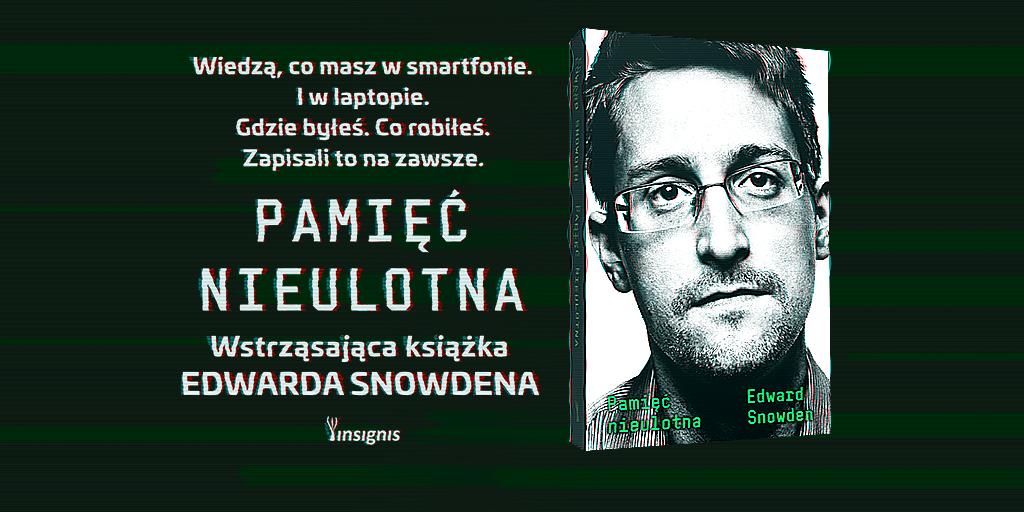 Międzynarodowa premiera głośnej książki Edwarda Snowdena. Również w Polsce!