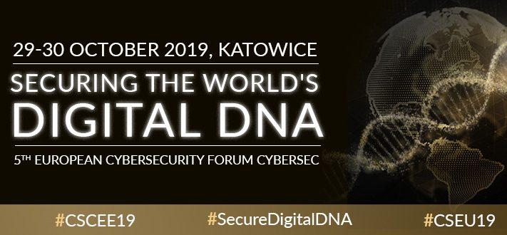 Hasłem przewodnim CYBERSEC 2019 jest Securing the World's Digital DNA