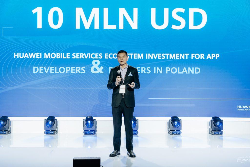 Huawei inwestuje w Polsce 10 mln USD w ekosystem Huawei Mobile Services