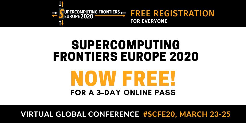 Supercomputing Frontiers Europe 2020:pierwsza, globalna, wirtualna konferencja