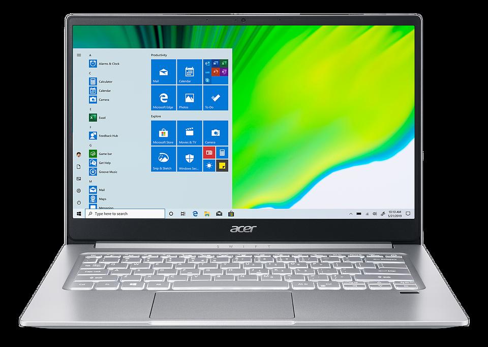 Acer Swift 3 oraz Aspire 3 – nowe laptopy z procesorami AMD
