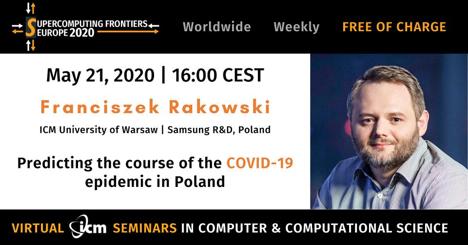 Seminarium ICM poświęcone przewidywaniom rozwoju epidemii COVID-19 w Polsce