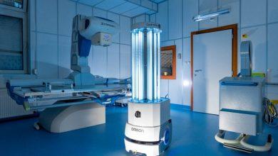 Robot UV-C ControlTec wspomaga walkę z koronawirusem