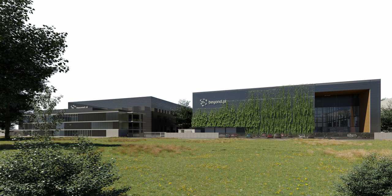 Beyond.pl rozpoczyna rozbudowę poznańskiego kampusu i 4-krotnie zwiększy powierzchnię centrum danych
