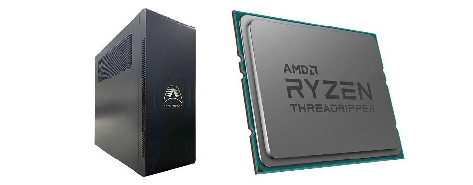 Rekordowa wydajność stacji roboczej Armari z procesorem AMD Ryzen Threadripper 3990X
