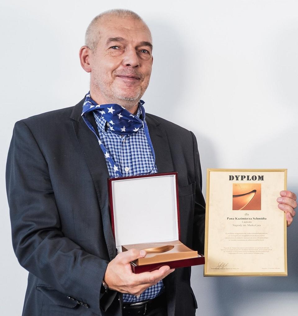 XXVI Forum Teleinformatyki: Dominik Batorski i Kazimierz Schmidt laureatami 19. edycji Nagrody im. Marka Cara