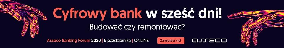 Asseco Banking Forum 2020: Cyfrowy bank w 6 dni! Budować czy remontować?