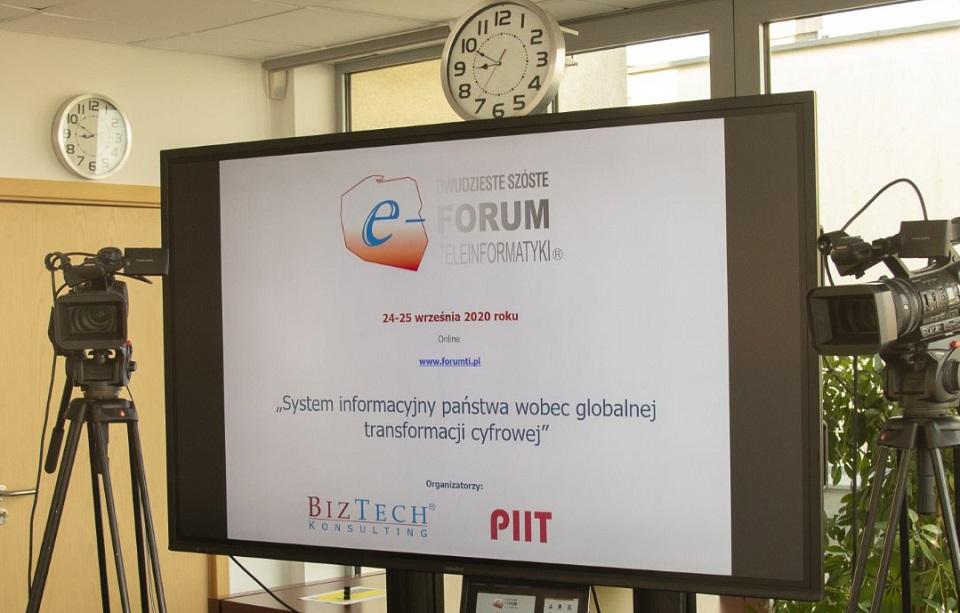 XXVI Forum Teleinformatyki: cel na najbliższą przyszłość to pogłębienie cyfrowej transformacji