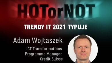 Trendy 2021: HOT or NOT? Typuje Adam Wojtaszek
