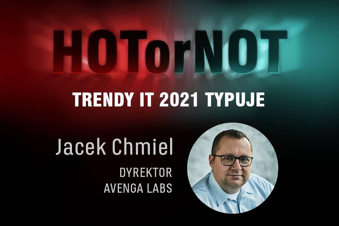 Trendy 2021: HOT or NOT? Typuje Jacek Chmiel