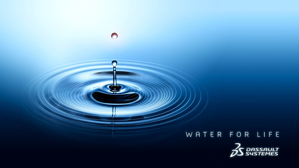 """Dassault Systèmes prezentuje inicjatywę """"Water for Life"""""""